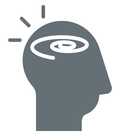 Cognitive Thinking - Icon as   File  イラスト・ベクター素材
