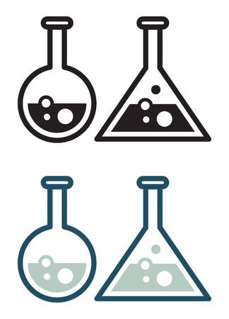 Chemistry Apparatus - Flask Icon as   File