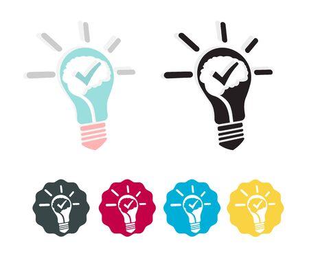 Creative Brain - Stock Icon as EPS 10 File
