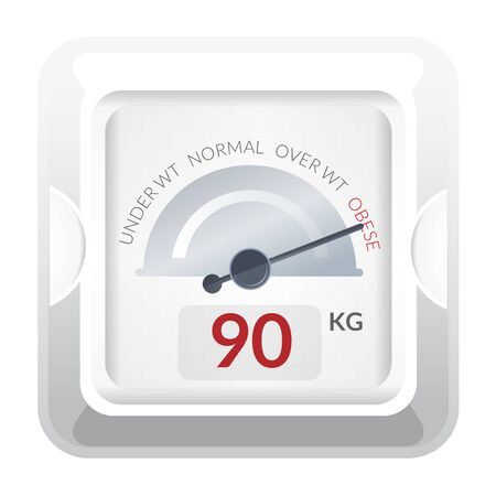Weighing Scale stock illustration as EPS 10 File Illustration