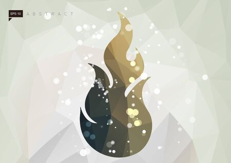 Flame Abstract Illustration as EPS 10 File