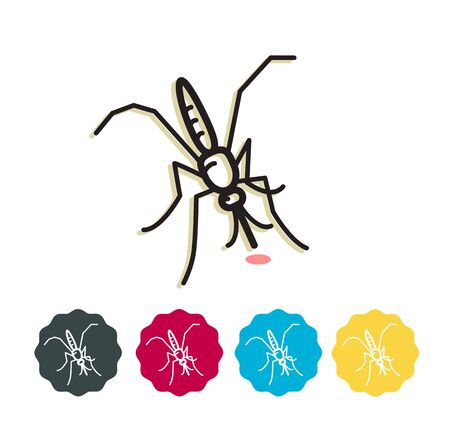 Mosquito - Dengue - Icon