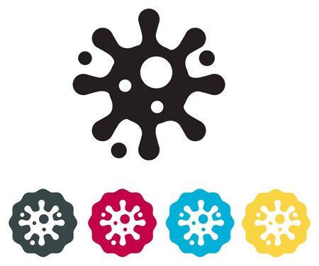 Virus - Infection Prevention Icon Illustration