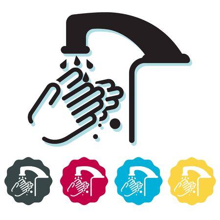 Hygiene - Handwash Stock Icon as EPS 10 File 矢量图像