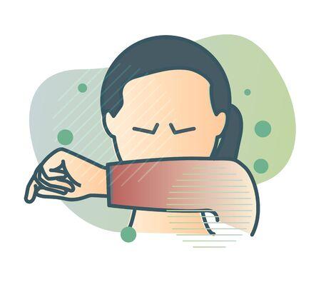 Sneeze - Common Cold and Flu Vektorgrafik