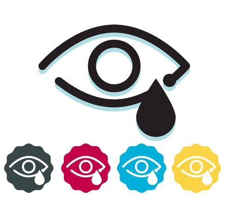 Eye Irritant Icon as File