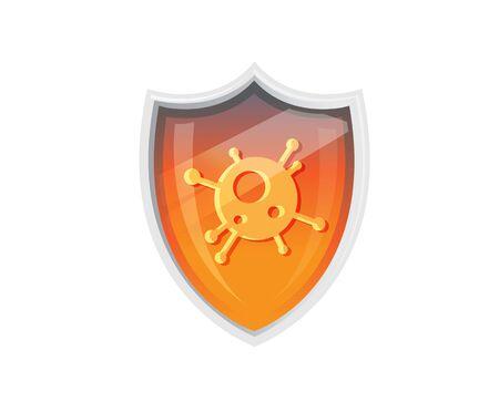 Guard Against the Coronavirus - Icon as   File