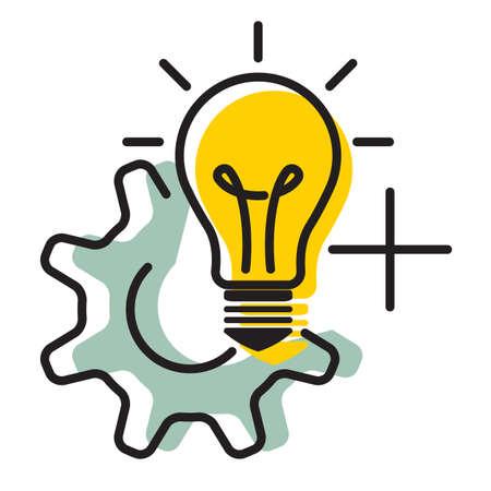 Creative Idea Development - Icon as EPS 10 File