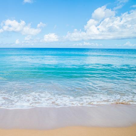 guadeloupe: Grande Anse Beach, Deshaies, Guadeloupe Stock Photo