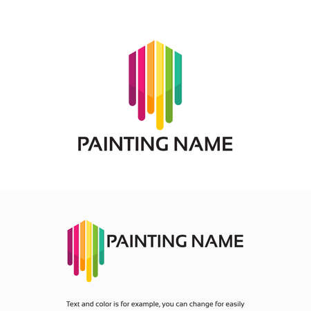 Painting Logo designs template