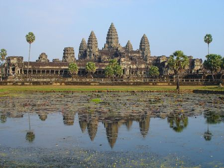 Angkor Temple, Siem Reap, Cambodia Stock Photo