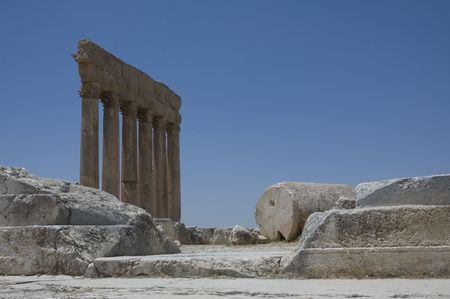 civilisation: Ancient ruins, Baalbeck, Lebanon