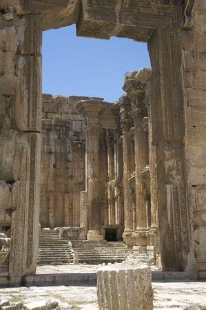 civilisation: Ancient gates, Baalbeck, Lebanon