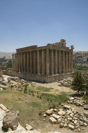 civilisation: Bachus Temple, Baalbeck, Lebanon