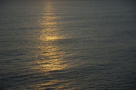 ocean sunset photo