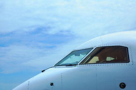 airplane cabin photo
