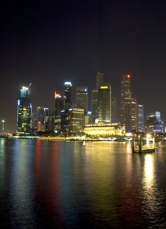 night view of Singapore Stock Photo - 317935