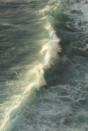 breaking wave photo
