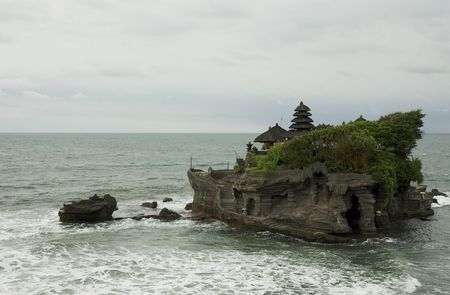 Tanah Lot temple, Bali, Indonesia photo