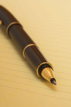 pen close-up photo