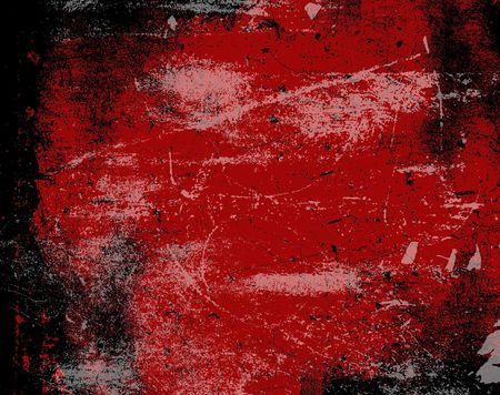 red grunge background Stock Photo - 351456