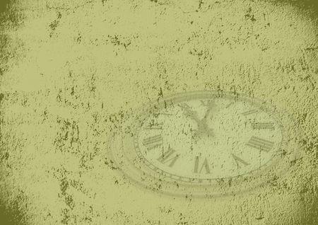 grunge time background