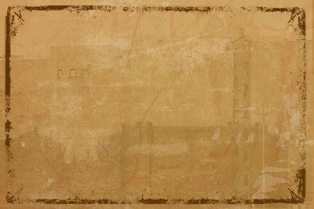 grunge framed background photo