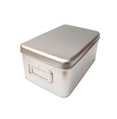 isolated metal box Stock Photo - 361748
