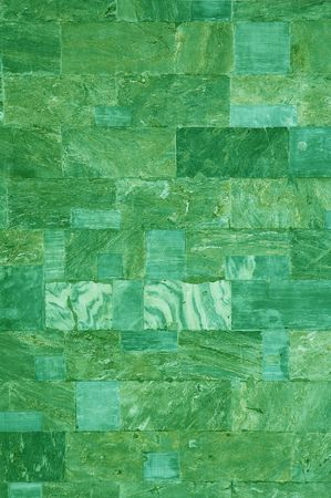 green marble tiles texture Stock Photo - 377316