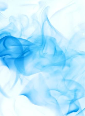 incense: blue abstract background