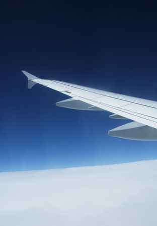 airplane wing Stock Photo - 458677