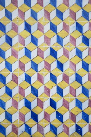 old tiles background photo