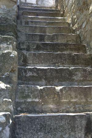 way up - stone steps photo