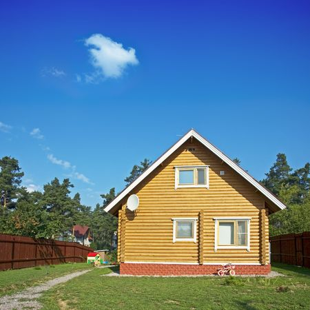 wooden house Stock Photo - 521380