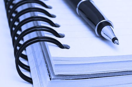 notebook and pen Stock Photo - 638360