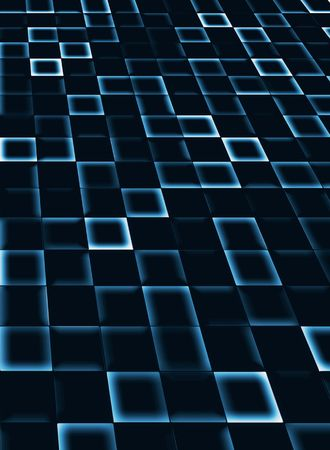 parallel world: neon tile background