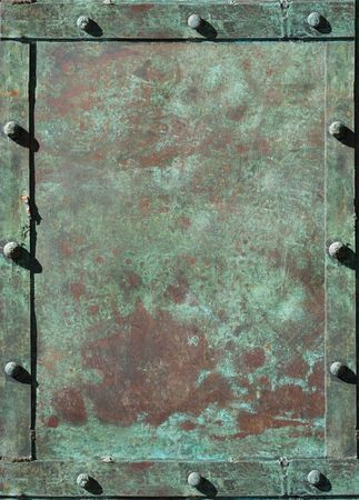 riveted: riveted grunge background with space for text Stock Photo