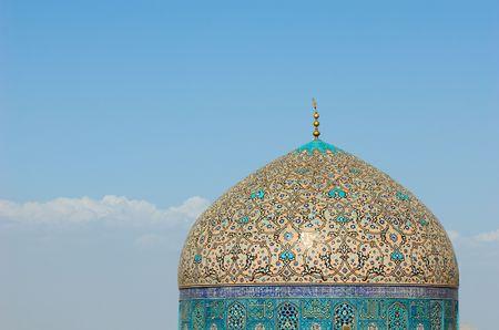 sheikh: Dome of Sheikh Lotf Allah Mosque, Isfahan, Iran