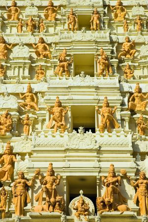 indian temple, singapore photo