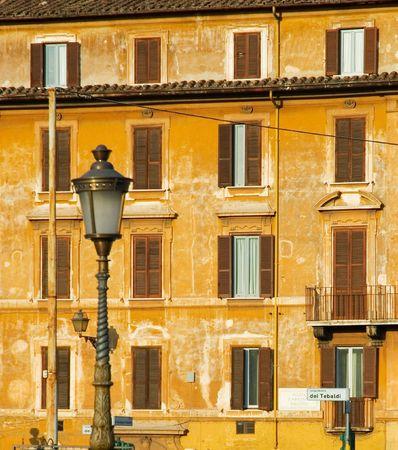 rome italy: Streets of Rome, Italy Stock Photo