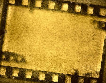 grunge film frame Stock Photo - 1126669