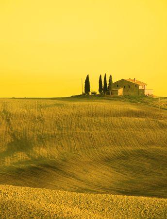 tuscan landscape Stock Photo - 1142240
