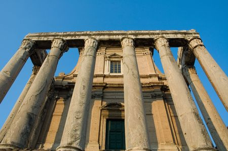 Ruins of Rome photo