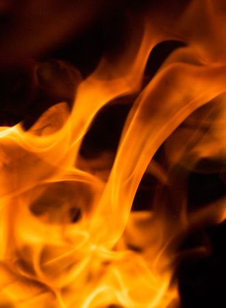 hellish: flame - perfect background of fire  Stock Photo