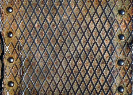 riveted: metal grunge texture