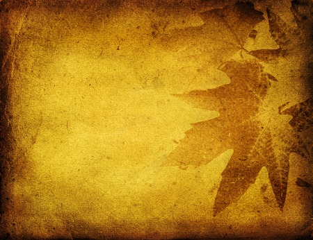 vintage background pattern: grunge foliage background with space for text or image