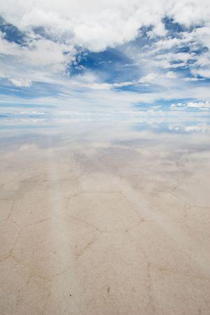 nowhere: road to nowhere, salar de uyuni, bolivia