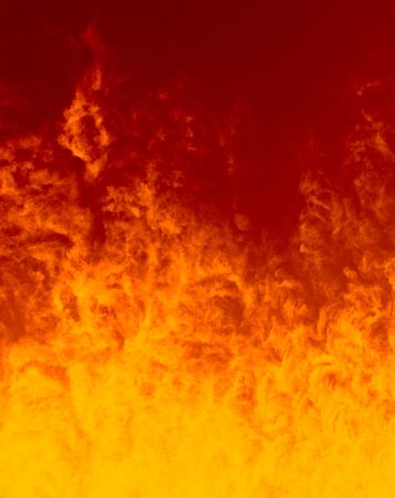 hellish: abstract fire background  Stock Photo