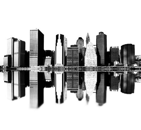 build up: cityscape - new york city skyline