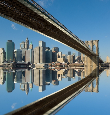 Pont de Brooklyn, New York, USA